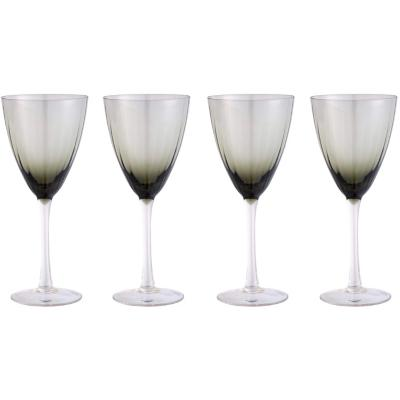 Set de 4 Copas Vino Blanco Gris Degradé 280 ml