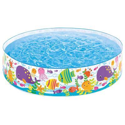 Piscina rígida 354 litros azul