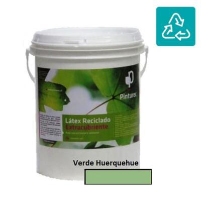 Látex reciclado extracubriente verde huerquehue 1g