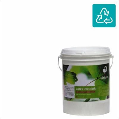Látex reciclado extracubriente blanco llama 1g