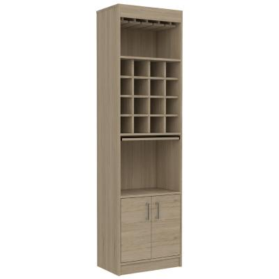 Bar 51x32,2x180 cm oak