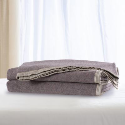 Frazada 100% lana florencia 1.5 plazas palo rosa