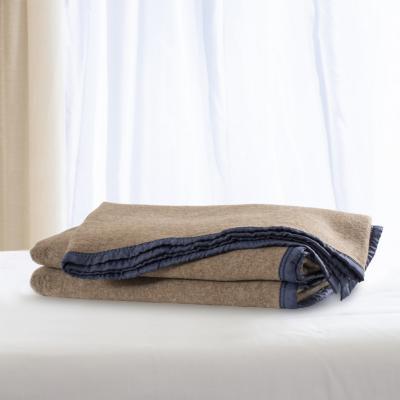 Frazada 100% lana florencia 1.5 plazas melange