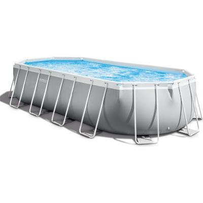 Set piscina prisma ovalada 610x305x122 cm