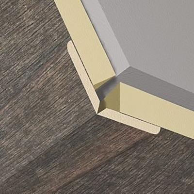 Esquinero panel 3D Rusty