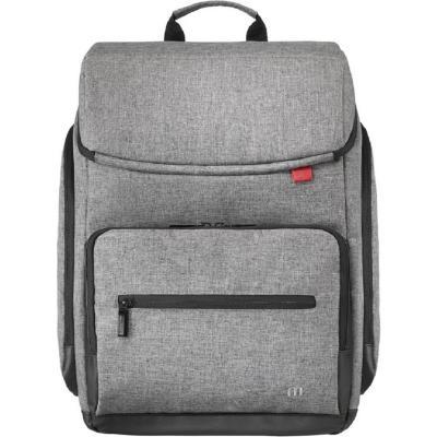 "Mochila para laptop 16"" gris"
