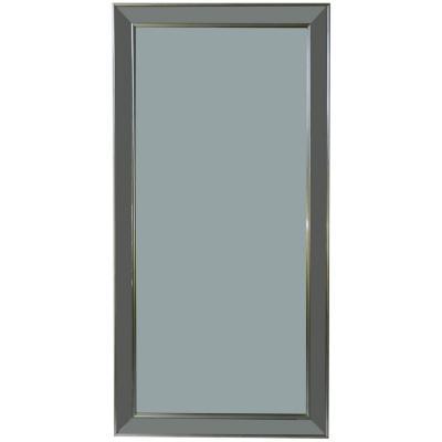Espejo borde plateado 60x120 cm