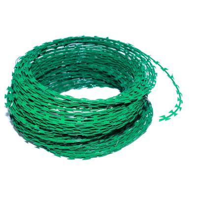 Concertina rollo 10 metros verde