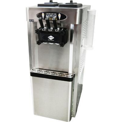 Máquina de helados soft pedestal 25 litros inox