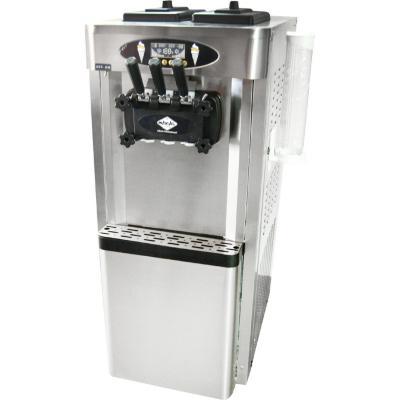 Máquina de helados soft pedestal 40 litros inox