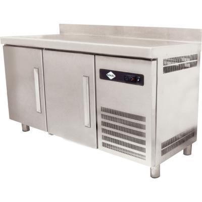 Mesón refrigerado 255 litros inox