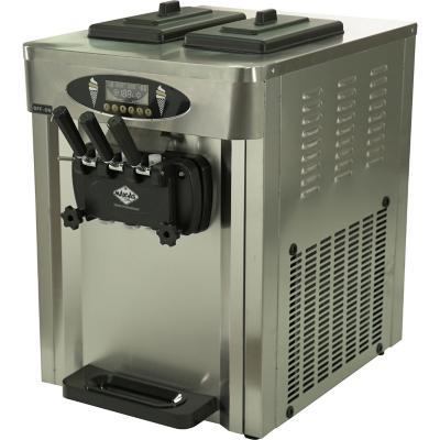 Máquina de helados soft sobremesa 25 litros inox