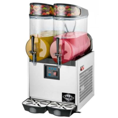 Máquina granizadora 2 depósitos 12 litros inox
