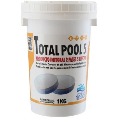 Cloro en tabletas para piscina 1 kg