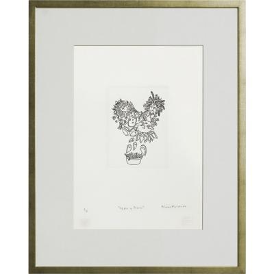 Cuadro Ofelia y Diana artista Paloma Maturana 56x71 cm