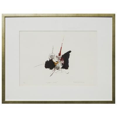 Cuadro Estudio de Flores artista Paloma Maturana 56x71 cm