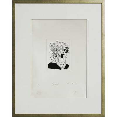 Cuadro Victoria artista Paloma Maturana 56x71 cm