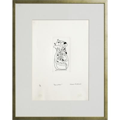 Cuadro Macetero artista Paloma Maturana 56x71 cm