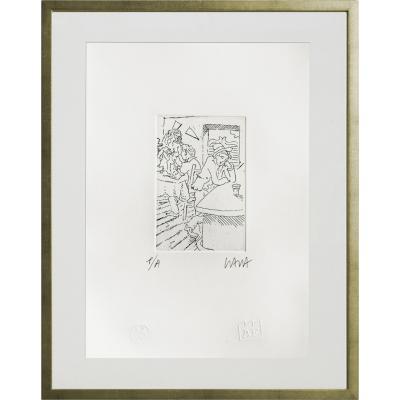 Cuadro Bar artista Andrés Gana 42,5x52,5 cm