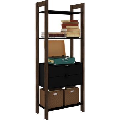 Gabinete 166x65x36 cm negro