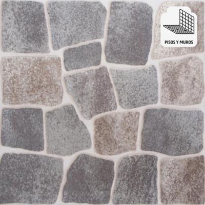 Cerámica gris 45,3x45,3 cm 2,05 m2