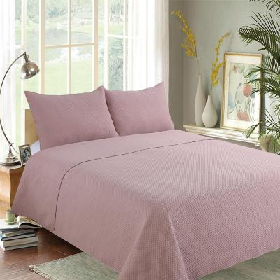 Quilt rombos pink king