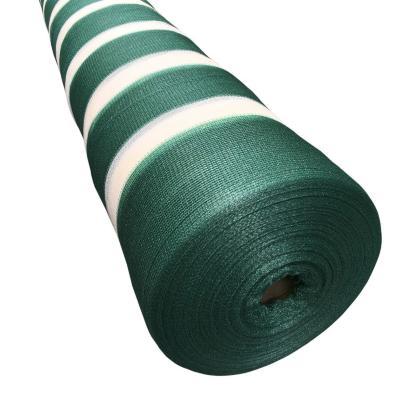 Malla raschel 2,10x100 m verde/blanco