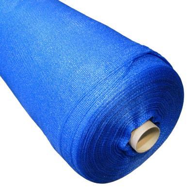 Malla raschel 80% 4,20x100 m azul  / 70 Gramos por m2