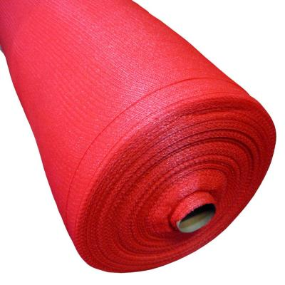 Malla raschel 80% 2,10x100 m rojo  / 80 Gramos por m2
