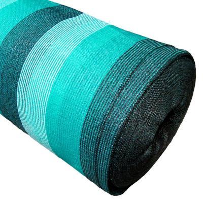 Malla raschel 80% 4,20x100 m verde/blanco/negro  / 80 Gramos por m2