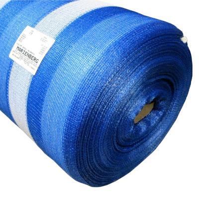 Malla raschel 65% 4,20x100 m azul/blanco  / 60 Gramos por m2