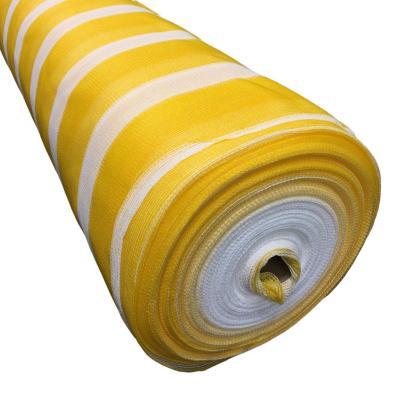 Malla raschel 80% 2,10x100 m amarillo/blanco  / 80 Gramos por m2