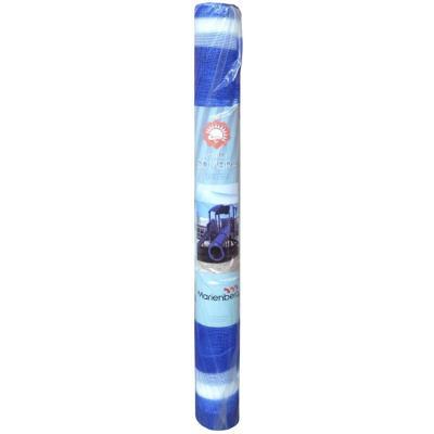 Malla raschel 80% 2,10x10 m azul/blanco  / 70 Gramos por m2