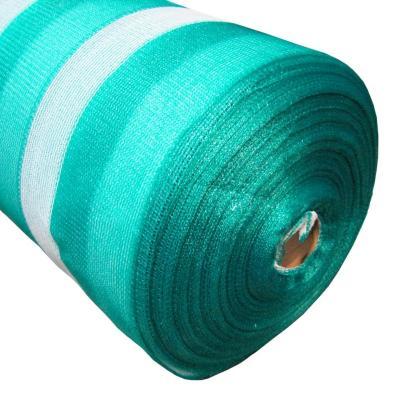 Malla raschel 80% 2,10x100 m verde/blanco  / 80 Gramos por m2