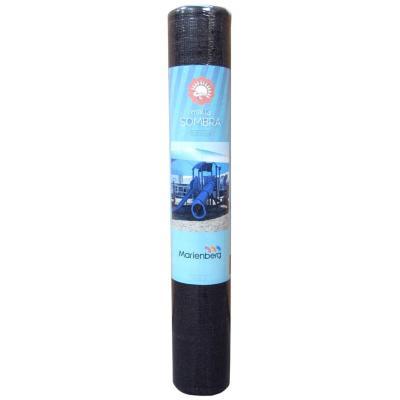 Malla raschel 80% 2,10x20 m negro  / 70 Gramos por m2