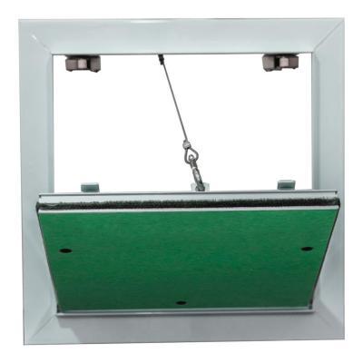 tapa de inspección 80x80  cm blanca 15 mm