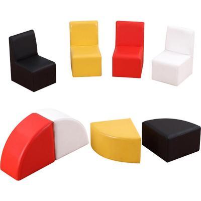 Set de 8 piezas sillones y pisos infantiles