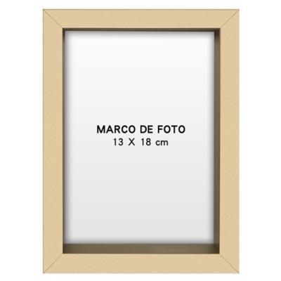 Marco foto caja gold 13x18 cm