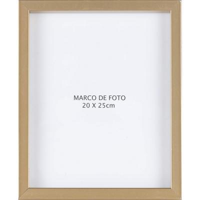 Marco foto caja gold 20x25 cm