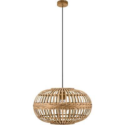 Lámpara de colgar Madera Amsfield Natural