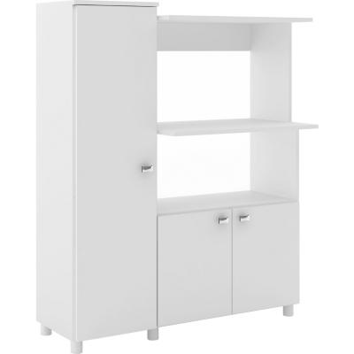 Mueble de cocina 119x96,5x41,5 cm blanco