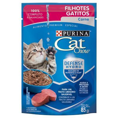 Pouch gatitos carne 85 gr