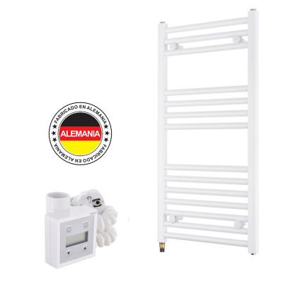 Toallero eléctrico blanco recto 40x77 cm + termostato Ktx3