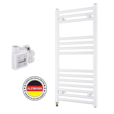 Toallero eléctrico blanco recto 50x77 cm + termostato Ktx3