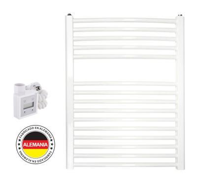 Toallero eléctrico blanco curvo 50x77 cm + termostato Ktx3