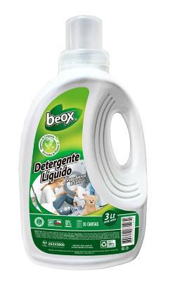 Detergente de ropa líquido 3 litros