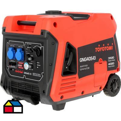 Generador eléctrico inverter a gasolina 4000 W