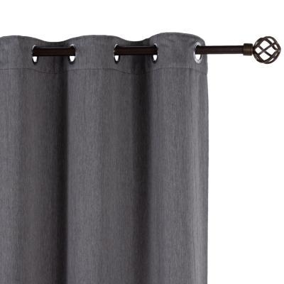 Cortina black-out Asís 145x250 cm gris
