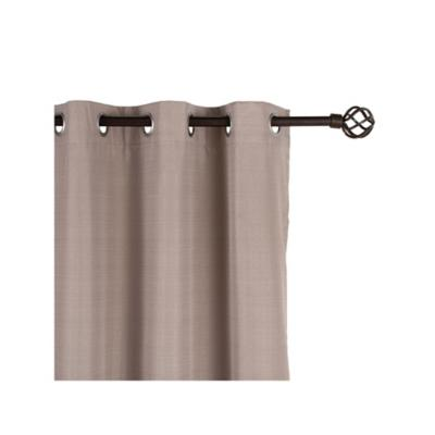 Cortina sun-out 140x220cm Camil taupe