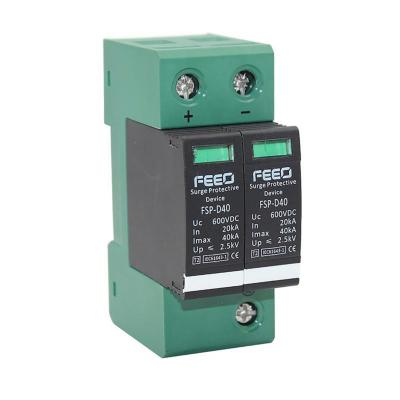 Protección sobre tensión surge 2p/600v/20-40ka